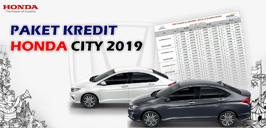 Kredit Honda City Kudus 2019