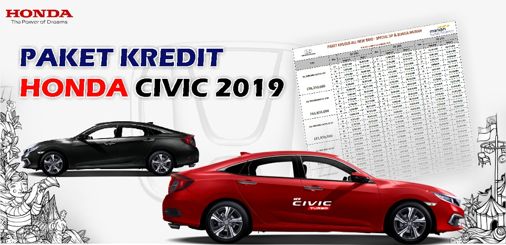 Kredit Honda Civic Kudus 2019