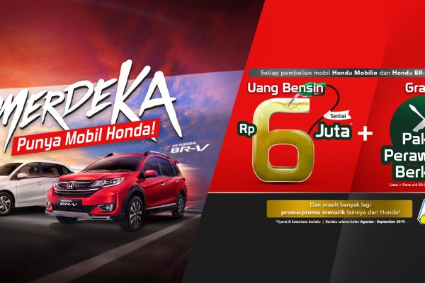 Hot Promo New Honda Mobilio 2019